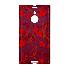 Red Floral Pattern Nokia Lumia 1520 by Valentinaart