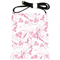 Floral Pattern Shoulder Sling Bags by Valentinaart