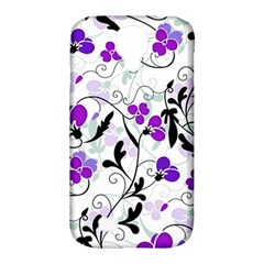 Floral Pattern Samsung Galaxy S4 Classic Hardshell Case (pc+silicone) by Valentinaart