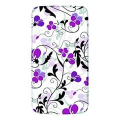 Floral Pattern Samsung Galaxy Mega I9200 Hardshell Back Case by Valentinaart