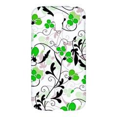 Floral Pattern Samsung Galaxy S4 I9500/i9505 Hardshell Case by Valentinaart