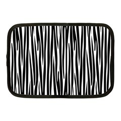 Zebra Pattern Netbook Case (medium)  by Valentinaart