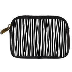 Zebra Pattern Digital Camera Cases by Valentinaart