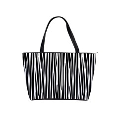Zebra Pattern Shoulder Handbags