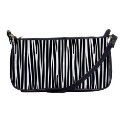 Zebra Pattern Shoulder Clutch Bags by Valentinaart