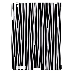 Zebra Pattern Apple Ipad 3/4 Hardshell Case (compatible With Smart Cover) by Valentinaart