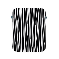Zebra Pattern Apple Ipad 2/3/4 Protective Soft Cases by Valentinaart