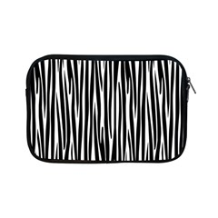 Zebra Pattern Apple Ipad Mini Zipper Cases by Valentinaart