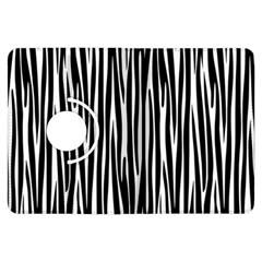 Zebra Pattern Kindle Fire Hdx Flip 360 Case by Valentinaart