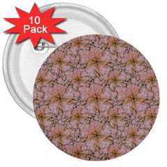 Nature Collage Print 3  Buttons (10 Pack)  by dflcprints