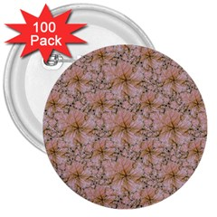 Nature Collage Print 3  Buttons (100 Pack)  by dflcprints