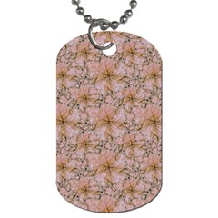 Nature Collage Print Dog Tag (two Sides) by dflcprints