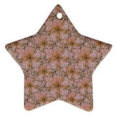 Nature Collage Print Star Ornament (two Sides) by dflcprints