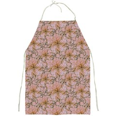 Nature Collage Print Full Print Aprons by dflcprints