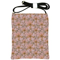 Nature Collage Print Shoulder Sling Bags by dflcprints