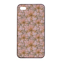 Nature Collage Print Apple Iphone 4/4s Seamless Case (black) by dflcprints