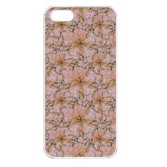 Nature Collage Print Apple Iphone 5 Seamless Case (white) by dflcprints