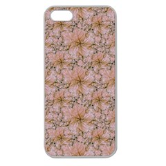 Nature Collage Print Apple Seamless Iphone 5 Case (clear) by dflcprints