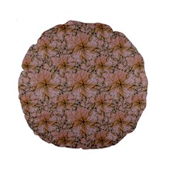 Nature Collage Print Standard 15  Premium Round Cushions by dflcprints
