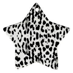 Animal Print Ornament (star) by Valentinaart