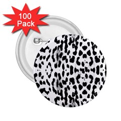 Animal Print 2 25  Buttons (100 Pack)  by Valentinaart