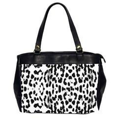 Animal Print Office Handbags (2 Sides)  by Valentinaart