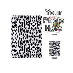 Animal Print Playing Cards 54 (mini)  by Valentinaart