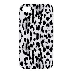 Animal Print Apple Iphone 4/4s Premium Hardshell Case by Valentinaart