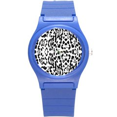 Animal Print Round Plastic Sport Watch (s) by Valentinaart