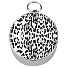 Animal Print Silver Compasses by Valentinaart