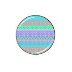 Pattern Hat Clip Ball Marker (4 Pack) by Valentinaart