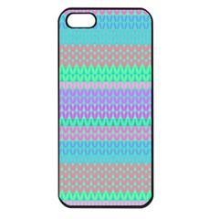 Pattern Apple Iphone 5 Seamless Case (black) by Valentinaart