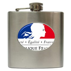 Symbol Of The French Government Hip Flask (6 Oz) by abbeyz71