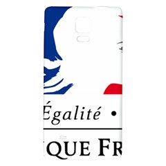 Symbol of the French Government Galaxy Note 4 Back Case