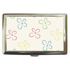 Flower Background Nature Floral Cigarette Money Cases by Simbadda