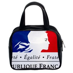 Symbol Of The French Government Classic Handbags (2 Sides) by abbeyz71