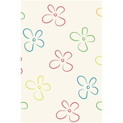 Flower Background Nature Floral 5 5  X 8 5  Notebooks by Simbadda