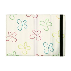 Flower Background Nature Floral Apple Ipad Mini Flip Case by Simbadda