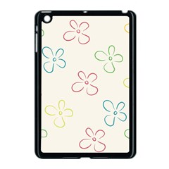 Flower Background Nature Floral Apple Ipad Mini Case (black) by Simbadda