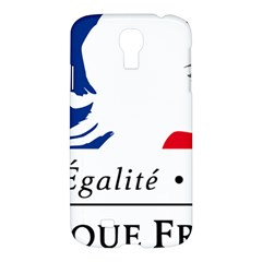 Symbol Of The French Government Samsung Galaxy S4 I9500/i9505 Hardshell Case by abbeyz71