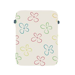 Flower Background Nature Floral Apple Ipad 2/3/4 Protective Soft Cases by Simbadda