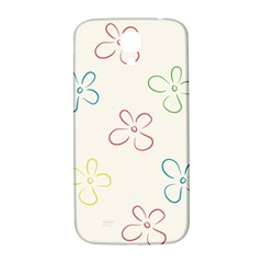Flower Background Nature Floral Samsung Galaxy S4 I9500/i9505  Hardshell Back Case by Simbadda