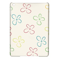 Flower Background Nature Floral Ipad Air Hardshell Cases by Simbadda