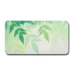 Spring Leaves Nature Light Medium Bar Mats by Simbadda