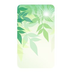Spring Leaves Nature Light Memory Card Reader