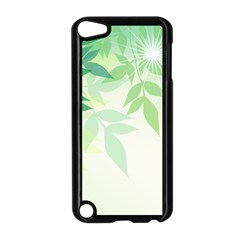 Spring Leaves Nature Light Apple Ipod Touch 5 Case (black) by Simbadda