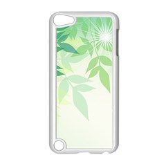 Spring Leaves Nature Light Apple Ipod Touch 5 Case (white) by Simbadda
