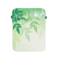 Spring Leaves Nature Light Apple Ipad 2/3/4 Protective Soft Cases by Simbadda