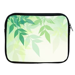 Spring Leaves Nature Light Apple Ipad 2/3/4 Zipper Cases by Simbadda