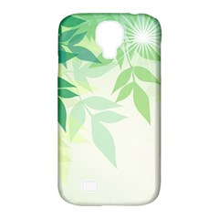 Spring Leaves Nature Light Samsung Galaxy S4 Classic Hardshell Case (pc+silicone) by Simbadda